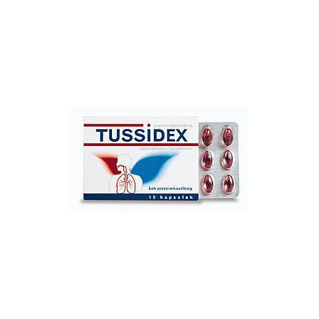 Tussidex, kapsułki elastyczne 30 mg marki Hasco-Lek - zdjęcie nr 1 - Bangla