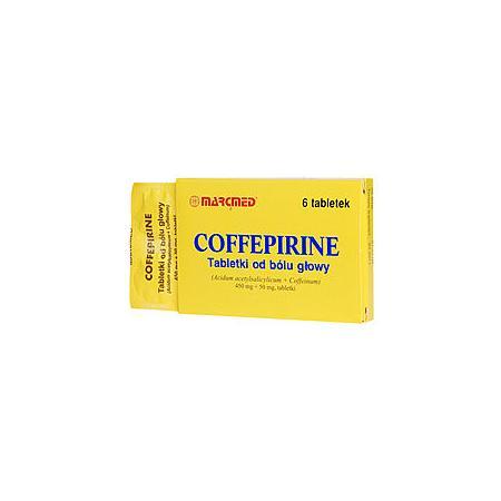 Coffepirine, tabletki marki Marcmed - zdjęcie nr 1 - Bangla