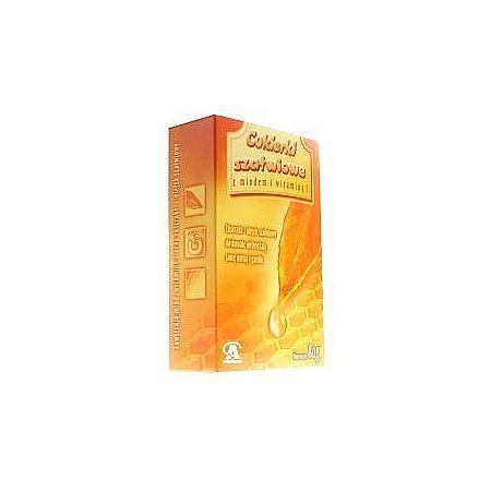Cukierki szałwiowe z miodem i witaminą C marki Aflofarm - zdjęcie nr 1 - Bangla