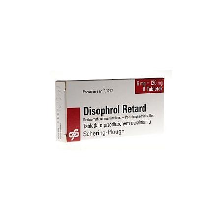 Disophrol retard, tabletki o przedłużonym uwalnianiu marki Schering Plough - zdjęcie nr 1 - Bangla