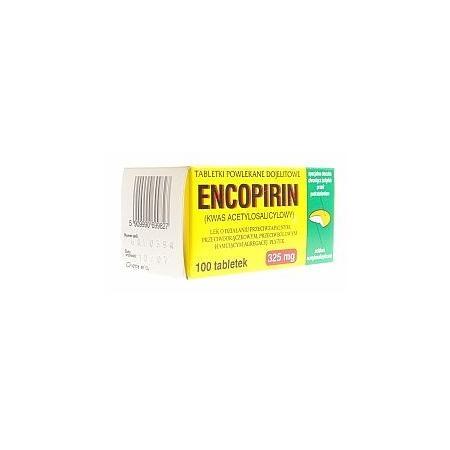 Encopirin, tabletki powlekane dojelitowe 325 mg marki Omega Rex - zdjęcie nr 1 - Bangla