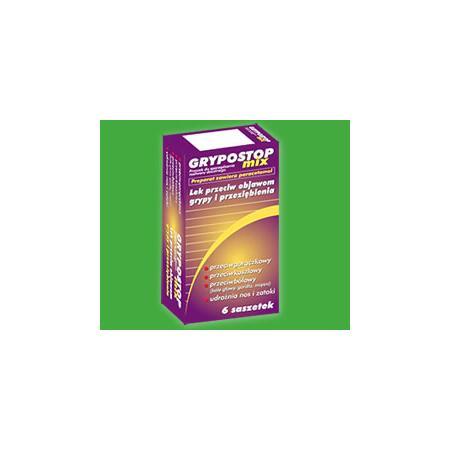 Grypostop Mix, Proszek do sporządzania roztworu doustnego marki Omega Rex - zdjęcie nr 1 - Bangla