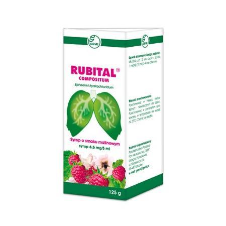 Rubital Compositum, syrop marki Gemi - zdjęcie nr 1 - Bangla