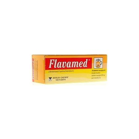 Flavamed, tabletki musujące, 60 mg marki Berlin Chemie AG - zdjęcie nr 1 - Bangla