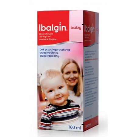 Ibalgin Baby, 100 mg marki Zentiva - zdjęcie nr 1 - Bangla