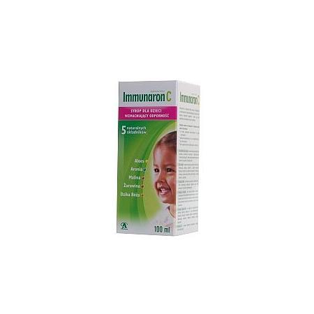 Immunaron C, syrop, dla dzieci marki Aflofarm - zdjęcie nr 1 - Bangla