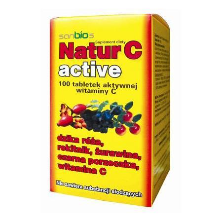 Natur C Active, tabletki marki Sanbios - zdjęcie nr 1 - Bangla