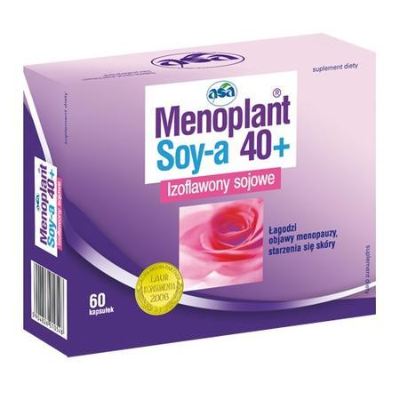 Menoplant Soy-a 40+ marki Asa - zdjęcie nr 1 - Bangla