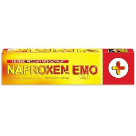 Naproxen żel 10% lub 1,2% marki Emo-Farm - zdjęcie nr 1 - Bangla