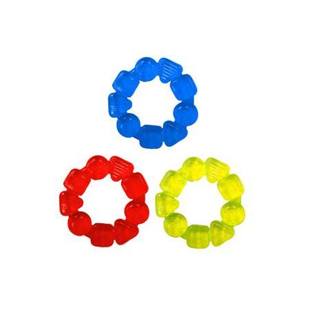 Żelowe pierścienie, Gel Soothing Ring Teether marki Bright Starts - zdjęcie nr 1 - Bangla
