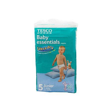 Baby Essentials, pieluchy marki Tesco - zdjęcie nr 1 - Bangla