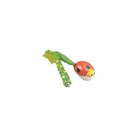 Szczotka do włosów z grzebykiem - biedronka i gąsiennica marki Sassy - zdjęcie nr 1 - Bangla