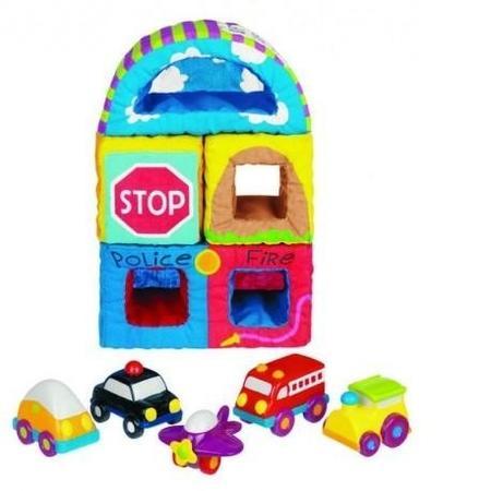 Pudełko pełne autek marki Sassy - zdjęcie nr 1 - Bangla