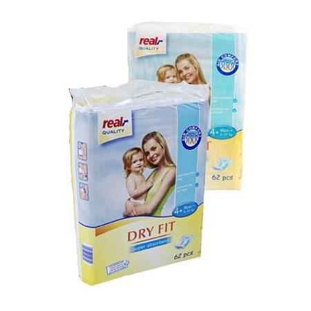 Dry Fit Pieluchy jednorazowe marki Real - zdjęcie nr 1 - Bangla