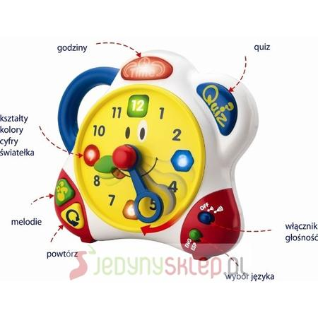 Edukacyjny Zegar Dwujęzyczny 3898T marki Smily Play - zdjęcie nr 1 - Bangla