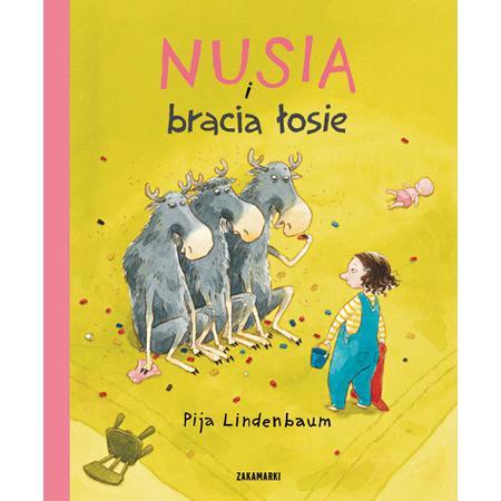 Nusia i ... - seria książek marki Wydawnictwo Zakamarki - zdjęcie nr 1 - Bangla