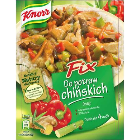 Fix Do Potraw Chińskich marki Knorr - zdjęcie nr 1 - Bangla
