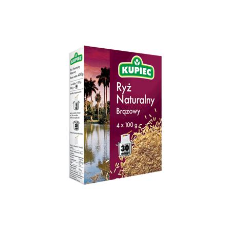 Ryż Naturalny Brązowy marki Kupiec - zdjęcie nr 1 - Bangla