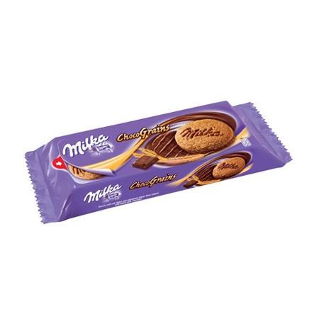ChocoGrains, ciastka z płatkami owsianymi w czekoladzie marki Milka - zdjęcie nr 1 - Bangla