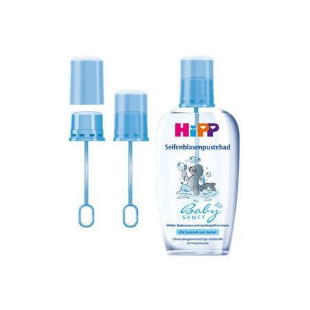 Babysanft Seifenblasenpustebad, Płyn do kąpieli z bańkami mydlanymi marki HiPP - zdjęcie nr 1 - Bangla