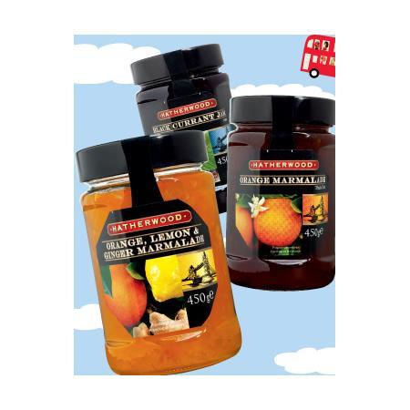 Hatherwood, Konfitura z czarnej porzeczki, Marmolada pomarańczowa lub Pomarańcza-cytryna-imbir marki Lidl - zdjęcie nr 1 - Bangla