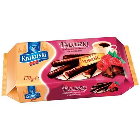 Paluszki z galaretką w czekoladzie, różne smaki marki Krakuski - zdjęcie nr 1 - Bangla