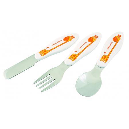 Metalowe sztućce dla dzieci łyżka, widelec, nóż marki Canpol babies - zdjęcie nr 1 - Bangla