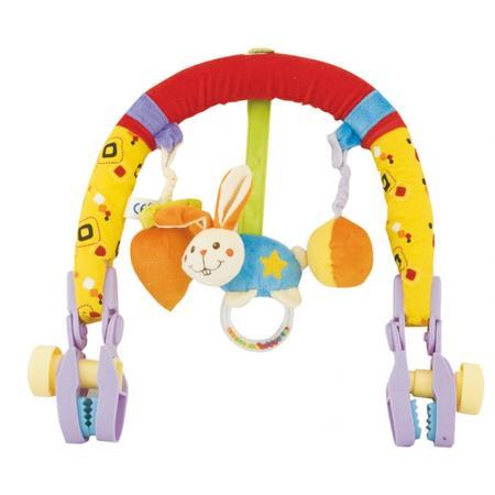 Pluszowy pałąk Króliczek z marchewką lub Małpka z bananem marki Canpol babies - zdjęcie nr 1 - Bangla