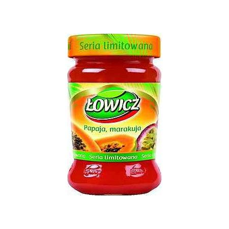 Dżem niskosłodzony papaja, marakuja marki Łowicz - zdjęcie nr 1 - Bangla