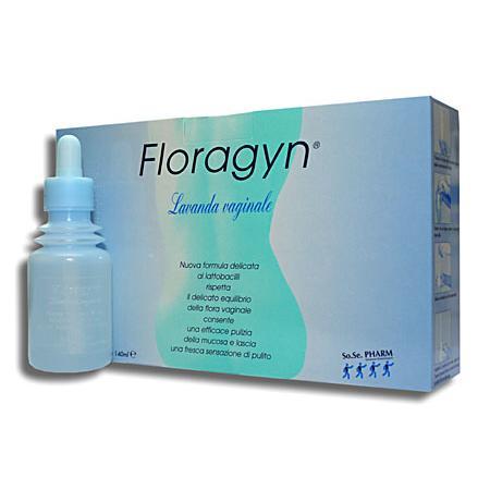 Floragyn Lavanda Vaginale, płyn do irygacji marki Solpharm - zdjęcie nr 1 - Bangla