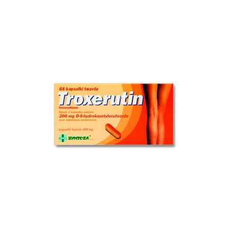 Troxerutin, kapsułki marki Synteza - zdjęcie nr 1 - Bangla