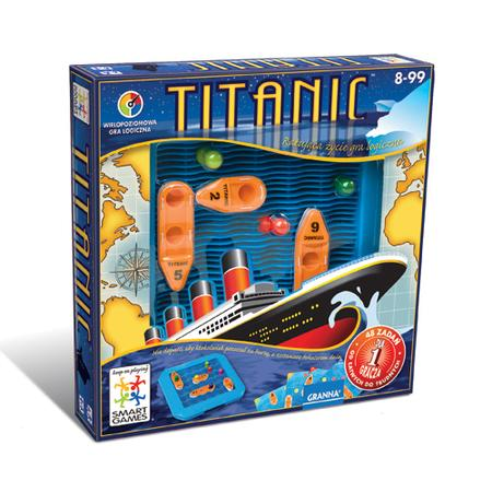 Titanic gra logiczna Smart Games marki Granna - zdjęcie nr 1 - Bangla