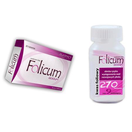 Folicum Acidum marki Pharmacy Laboratories - zdjęcie nr 1 - Bangla