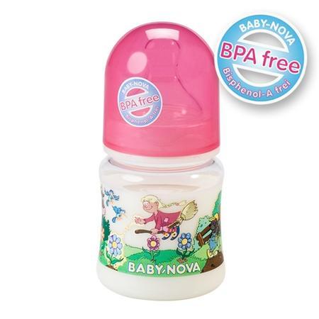 Butelka szerokootworowa plastikowa z uchwytami lub bez marki Baby Nova - zdjęcie nr 1 - Bangla