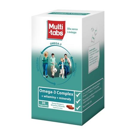 Multi Tabs Omega 3 Complex + witaminy + minerały marki Ferrosan - zdjęcie nr 1 - Bangla