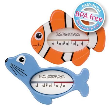 Termometr do kąpieli, foka lub rybka marki Baby Nova - zdjęcie nr 1 - Bangla