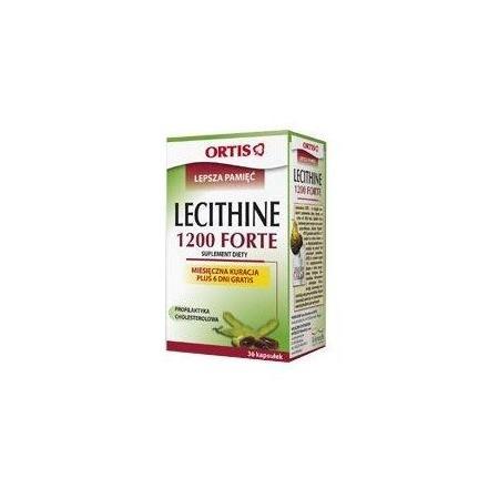 Lecithine 1200 Forte marki Ortis - zdjęcie nr 1 - Bangla