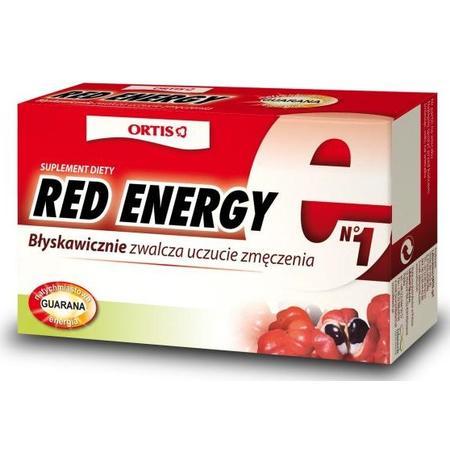 Red Energy, tabletki marki Ortis - zdjęcie nr 1 - Bangla