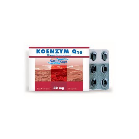 Koenzym Q10, 30 mg marki Naturkaps - zdjęcie nr 1 - Bangla
