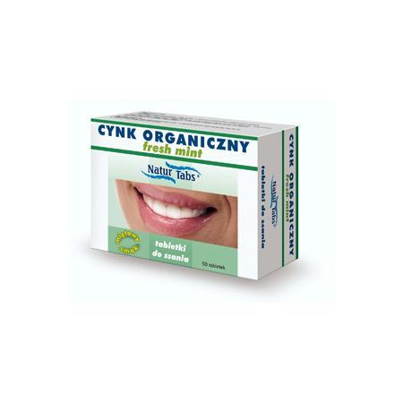 Cynk Organiczny, fresh mint marki Naturkaps - zdjęcie nr 1 - Bangla