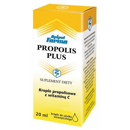 Propolis Plus, Krople propolisowe z witaminą C marki Apipol Farma - zdjęcie nr 1 - Bangla