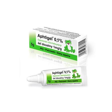 Aphtigel 0,1% tuba marki Hecpharma - zdjęcie nr 1 - Bangla