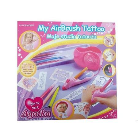 Agatka, My AirBrush Tatoo, Moje Studio tatuażu marki Interkobo - zdjęcie nr 1 - Bangla