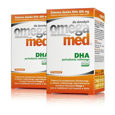 Omegamed DHA dla dorosłych marki Sequoia - zdjęcie nr 1 - Bangla