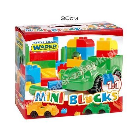 Mini Blocks, różne zestawy marki Wader - zdjęcie nr 1 - Bangla