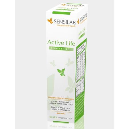 Active Life, tabletki do rozpuszczania marki Sensilab - zdjęcie nr 1 - Bangla