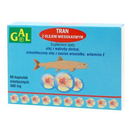 Tran z olejem wiesiołkowym marki Gal - zdjęcie nr 1 - Bangla