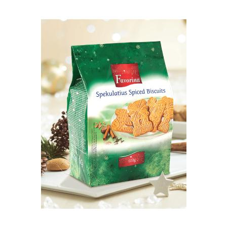 Favorina Spekulatius Spiced Biscuits, Kruche ciasteczka korzenne marki Lidl - zdjęcie nr 1 - Bangla
