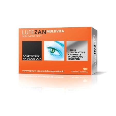 Lutezan Multivita, tabletki marki Blau Farma - zdjęcie nr 1 - Bangla