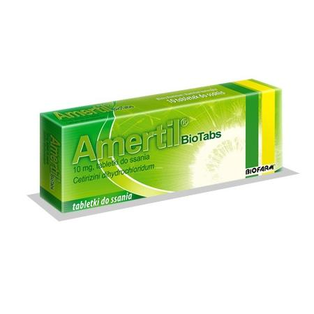 Amertil Biotabs, tabletki do ssania marki Biofarm - zdjęcie nr 1 - Bangla